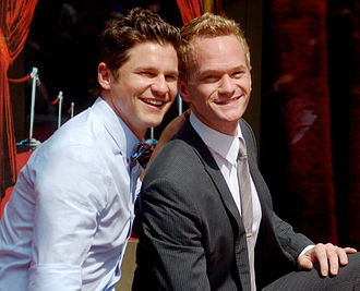 Neil Patrick Harris - Harris with his husband David Burtka at his ceremony to receive a star on the Hollywood Walk of Fame on September 15, 2011