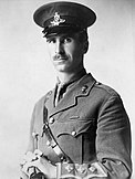 Captain David Nelson, commissioned from the ranks in 1914