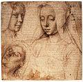 David Study of heads.jpg
