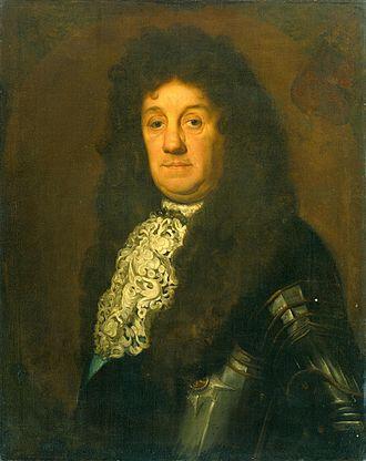 Cornelis Tromp - Tromp at a later age, painted by David van der Plas