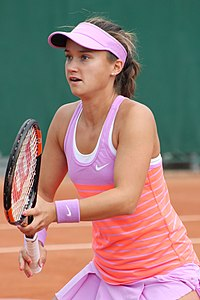 Davis At The  French Open Red Clay Is Considered One Of Her Best Surfaces