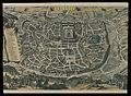 De Heylige en wytvermaerde stadt Ierusalem, eerst genaemt Salem;Genesis 14 Vers 18 - C.J. Visscher Excud.jpg