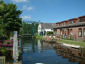 Midden-Delfland - Canal through Zweth