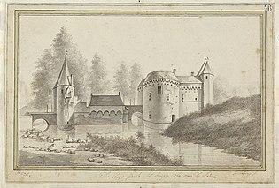 De kruispoort te Brugge