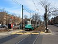 Dean Road MBTA station outbound, Brookline MA.jpg