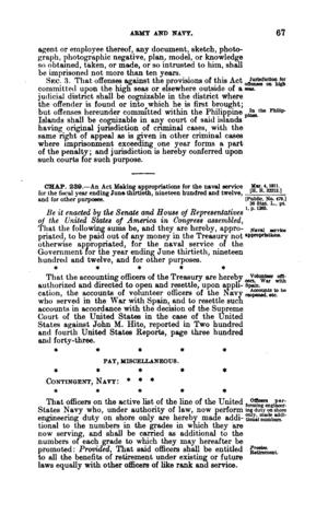 Defense Secrets Act of 1911 - Image: Defense Secrets Act of 1911 page 2