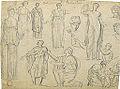 Dehodencq A. - Pencil - Etudes d'après l'antique - 26x20cm.jpg