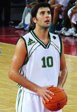 Greek Basket League Finals MVP - Dejan Bodiroga was the Greek Basket League Finals MVP 2 times (1999, 2000).