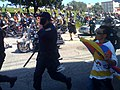 Demonstrators and San Francisco Police following the Olympic Torch Relay (2008).jpg