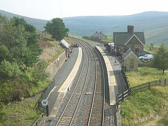 Dent railway station - Image: Dent railway station