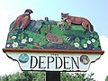 Depden village sign - geograph.org.uk - 932115.jpg