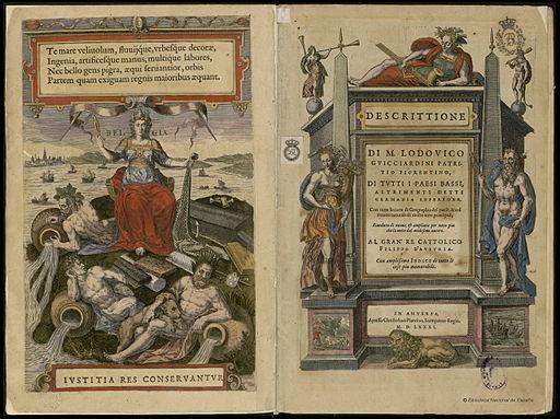Descrittione di M. Lodouico Guicciardini patritio fiorentino di tutti i Paesi Bassi 1567