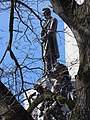 Detail of Lincoln's Tomb through Branches - Oak Ridge Cemetery - Springfield - Illinois - USA (32768347032).jpg