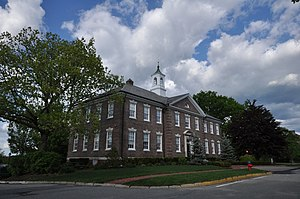 Fort Devens Historic District - A larger building on the former military base