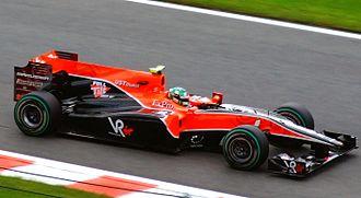 2010 Belgian Grand Prix - Lucas di Grassi qualified 23rd.