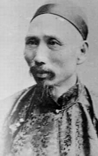Beiyang Fleet - Admiral Ding Ruchang (1836–95), the Beiyang Fleet commander.  Ding was a cavalryman by background.