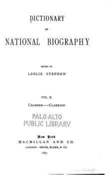Dictionary of National Biography volume 10.djvu