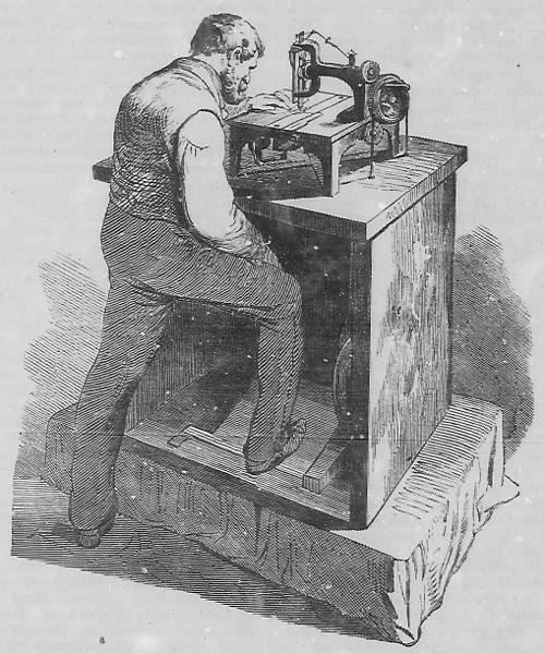 die nähmaschine – wikisource ~ Nähmaschine Zieht Unterfaden Nicht