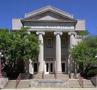 Peoria, Illinois - The Dingeldine Music Center at Bradley University