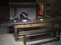 Dining table in Brooklyn, c. 1664 IMG 3837