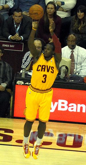 Dion Waiters - Waiters with Cleveland Cavaliers in 2012