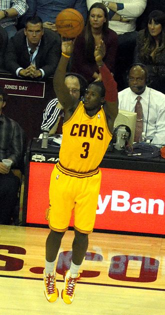 Dion Waiters - Waiters with Cavaliers in November 2012