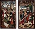 Dirk bouts, la giustizia dell'imperatore ottone, supplizio del conte innocente e prova del fuoco, 01.JPG
