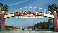 Disney World - Entrance sign - by inkiboo.jpg