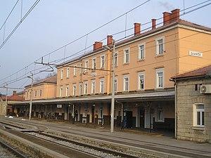 Divača - Divača railway station