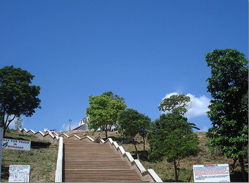 File:Divine Mercy Hills, 200 steps to the top..jpg