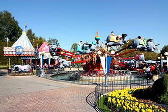 Dumbo the Flying Elephant - Image: Dlp dumbo