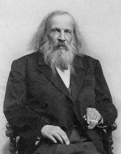 Dmitri Mendeleev 1890s