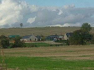 Sauchen - Farm at Dockenwell, west of Sauchen