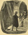 Doctor Dee, in conjunction with his Seer Edward Kelley, exhibiting his magical skill to Guy Fawkes.png