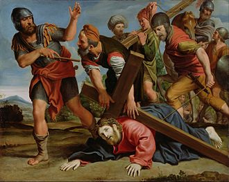 Domenichino - Domenichino (Domenico Zampieri)  The Way to Calvary