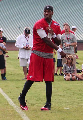 Dominique Davis - Davis in 2013 with the Atlanta Falcons
