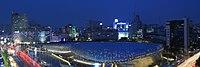 Dongdaemun Design Plaza at night, Seoul, Korea.jpg