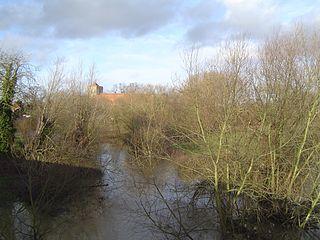 River Thame river in the United Kingdom
