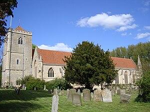 Joseph Maltby Bignell - Dorchester Abbey