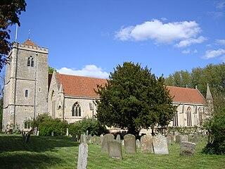 Dorchester Abbey Church in Oxfordshire , United Kingdom