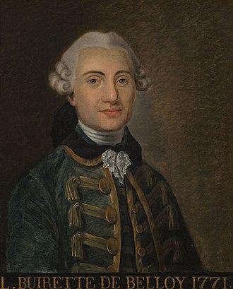 Pierre-Laurent Buirette de Belloy - Pierre-Laurent Buirette de Belloy (1771)