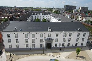 Mechelen transit camp - Modern view of Dossin Barracks which housed the transit camp