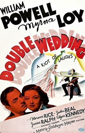 Double Wedding - theatrical release poster