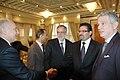 Dr. Rafik Abdessalem s'entretient avec M. M. Andrea Riccardi, ministre italien de la Coopération internationale et de l'Intégration. (6886787955).jpg