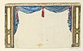 Drawing, Design for Drapery, Possibly for Library, 1802 (CH 18610091-2).jpg