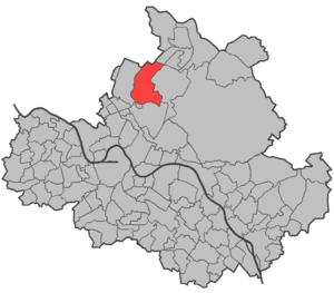 Dresden gemarkungen Hellerau