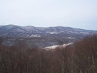 Droop, West Virginia - Image: Droop Park Overlook