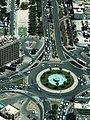 Dubai - Kreuzung Mankhool Road und Al Dhiyafah Street - ا تقاطع شارع المنخول و آل شارع الضيافة - panoramio.jpg