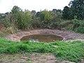 Dubeč, jezírko u rybníku V Rohožníku.jpg