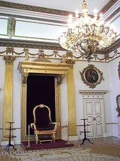 Viceregal throne (Ireland)